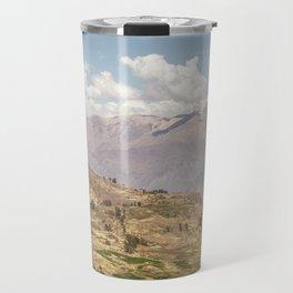 Colca canyon in Arequipa Peru Travel Mug