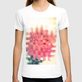 Pixel flower T-shirt
