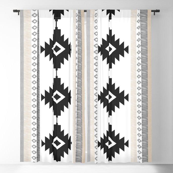 Pueblo in Tan Blackout Curtain