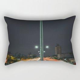 Car Lights Rectangular Pillow