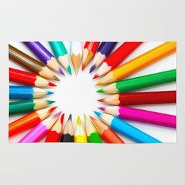 Color Pencils Rug