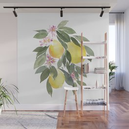Lemontree Wall Mural