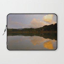 Lake at sunset Laptop Sleeve