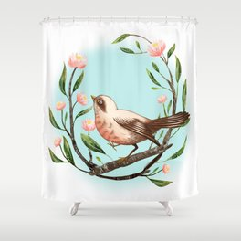 Spring Is Forever In My Heart Shower Curtain