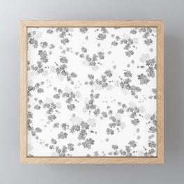 Cherry Flower 14 Framed Mini Art Print