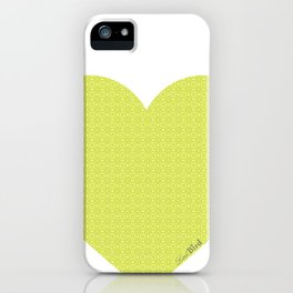 I love you this much... (green) iPhone Case