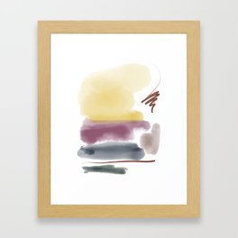 Introversion IV Framed Art Print