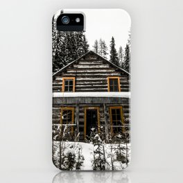 cabin in the woods iPhone Case