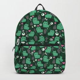 Creepy Zombie Llama Backpack
