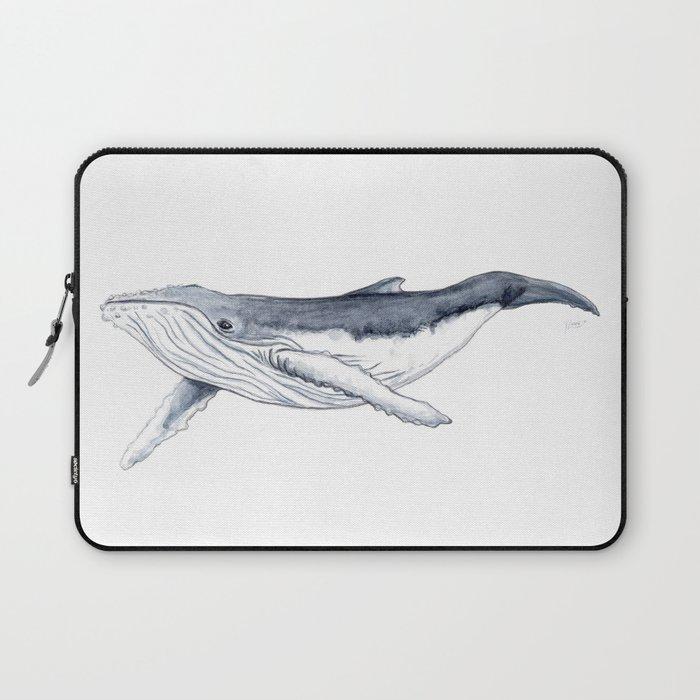 Baby humpback whale (Megaptera novaeangliae) Laptop Sleeve