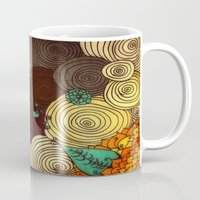earth Mugs featuring Earth by DuckyB