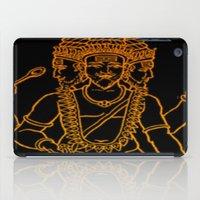 hindu iPad Cases featuring Hindu by Littlefox