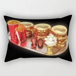 The Golden Age Of Fast Food Rectangular Pillow