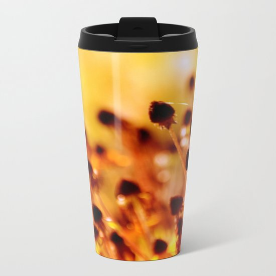 BEAUTY REMAINS Metal Travel Mug