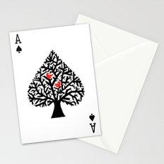 Ace of spade Stationery Cards