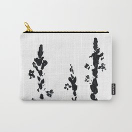 042/100: GRAY VERVAIN [100 Day Project 2020] Carry-All Pouch