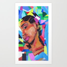 Through 1 Art Print