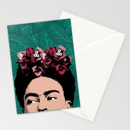 Floral Frida Stationery Cards