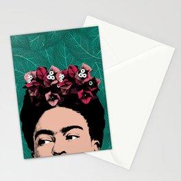 Floral Frida Stationery Cards