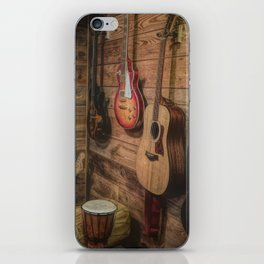 Guitar Wall of Music iPhone Skin