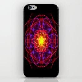 Silkweave / Neon Sigil 1 iPhone Skin
