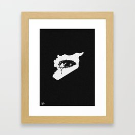 Mourn With Me Framed Art Print