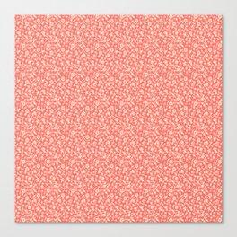 Pink Florish Canvas Print