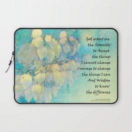 Serenity Prayer Manzanita Laptop Sleeve