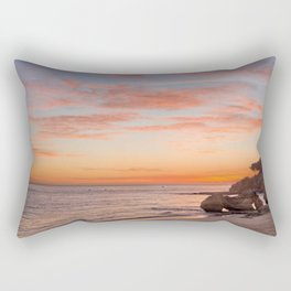Algarve sunset Rectangular Pillow