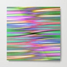 Multicolored lines no. 3 Metal Print