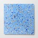 Bedtime Stories BLUE / Cartoon pencil pattern by grandeduc