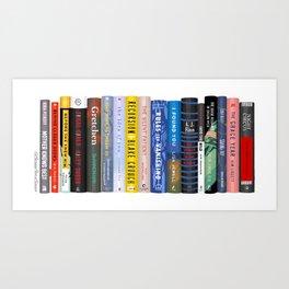 Book Stack No. 16 Art Print