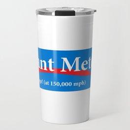 Giant Meteor 2020 Real Change (at 150,000 mph) Travel Mug
