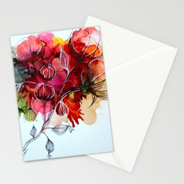 Fleurs de coton Stationery Cards