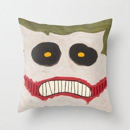 JOKER BOXHEAD Throw Pillow