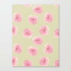 Perennial Pattern Canvas Print