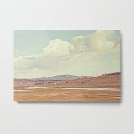 Summer Landscape Metal Print