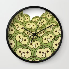 Oshikura Kakapo Surround Wall Clock