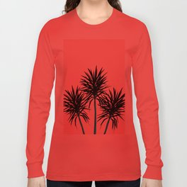 Palm Trees - Cali Summer Vibes #1 #decor #art #society6 Long Sleeve T-shirt