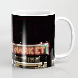 Pike Place Farmers Market - at night Coffee Mug