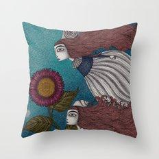 The Little Mermaid (2) Throw Pillow