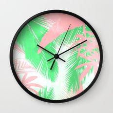 Tropical N Wall Clock