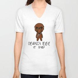 Chewbacca Believe it Unisex V-Neck