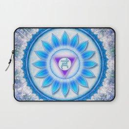 Vishuddha Chakra - Throat Chakra Laptop Sleeve