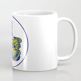 Thumbs Up Nebraska Coffee Mug