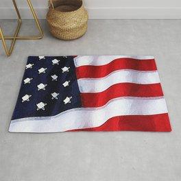 Patriotic Colorado Rug
