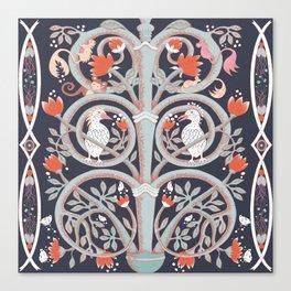 Monkey tree Canvas Print