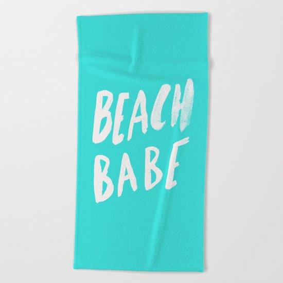 Beach Babe x Teal Beach Towel