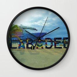 Labadee, Haiti Wall Clock