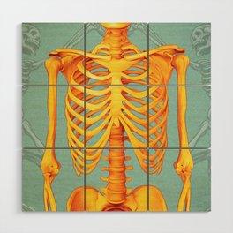 Skeleton II Wood Wall Art